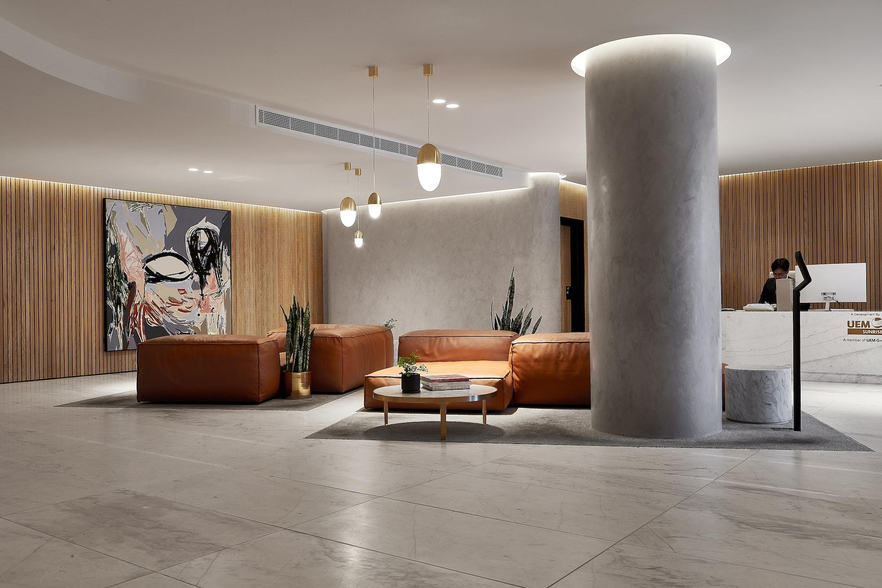 Concierge & Residential Lobby